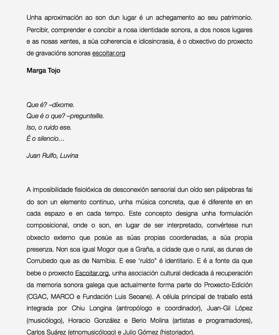 Entrevista Escoitar.org Galiza Hoxe