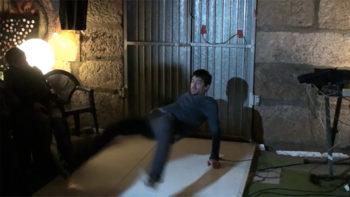 Acción Baila Maldito de Berio Molina no Lab Alg-a