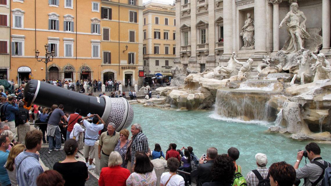 Sonosfera di Roma. Acción de Escoitar.org