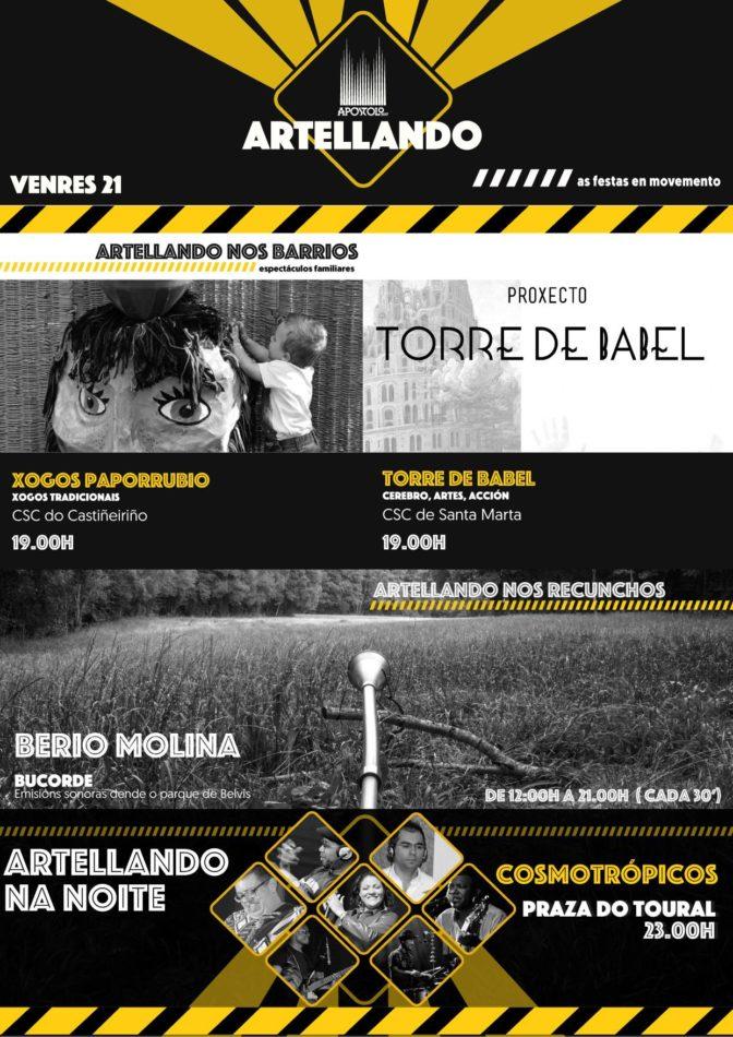 Bucorde de Berio Molina no Artellando