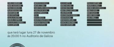 X Premio Auditorio de Galicia para novos artistas 2017