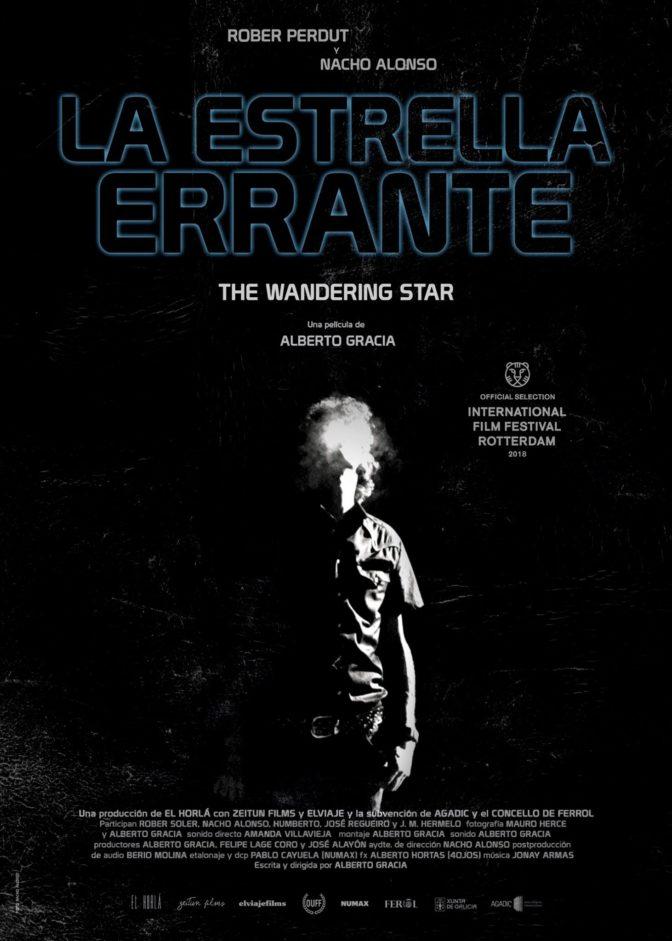 Cartel La Estrella Errante de Alberto Gracia