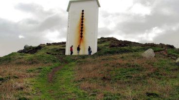 Sirena do Faro de Estaca de Bares. Foto de Miguel Bernárdez