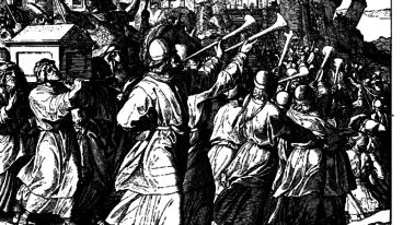 Julius Schnorr von Carolsfeld (1794-1872), The Battle of Jericho.