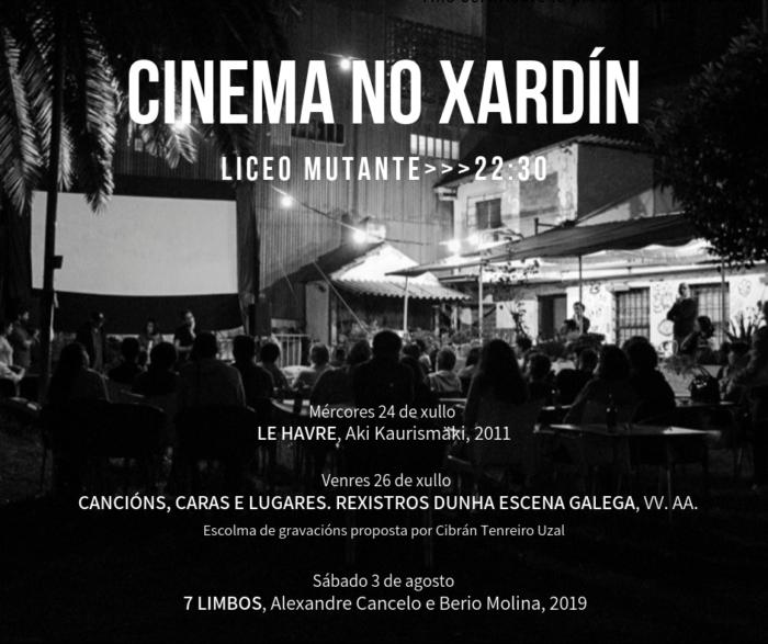 Cinema no Xardín 2019