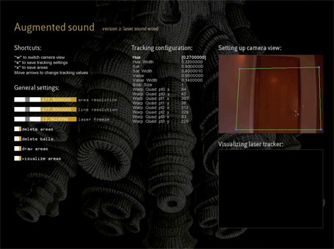 Augmented Sound software-image